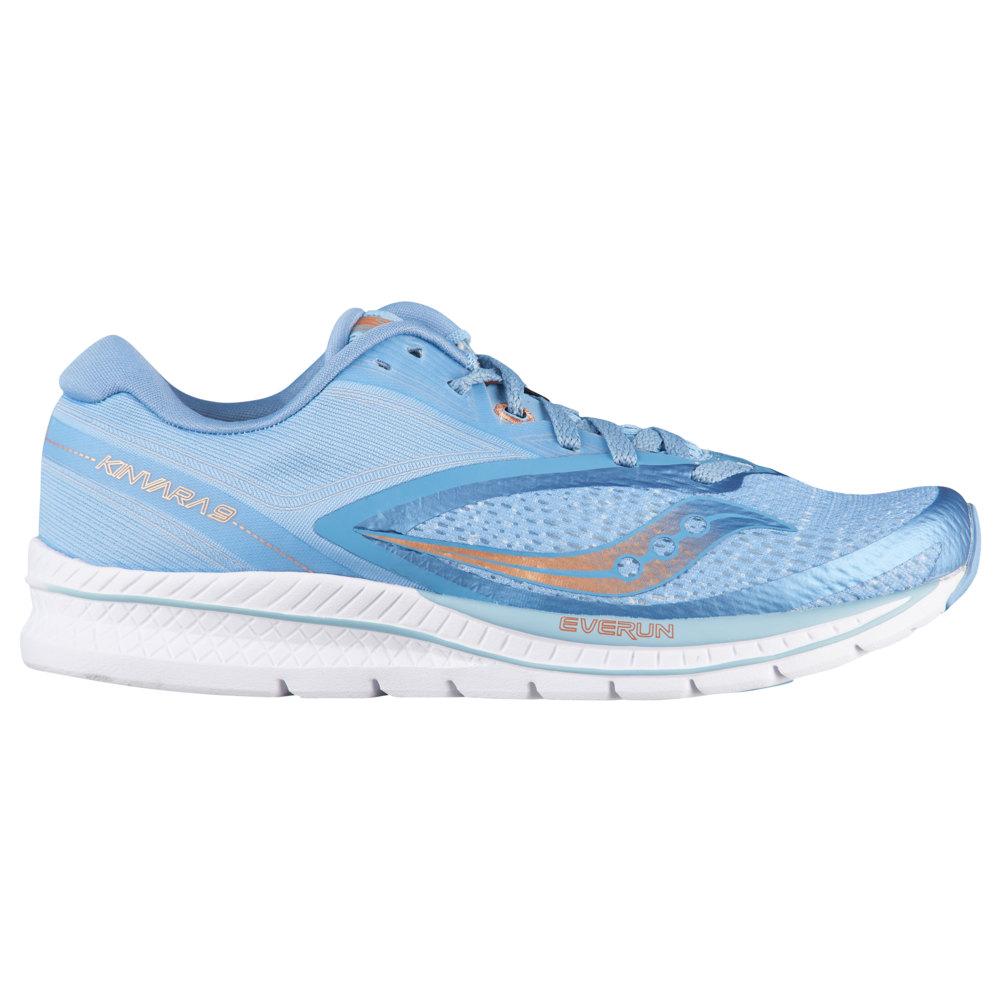 サッカニー Saucony レディース ランニング・ウォーキング シューズ・靴【Kinvara 9】Light Blue/Denim/Copper