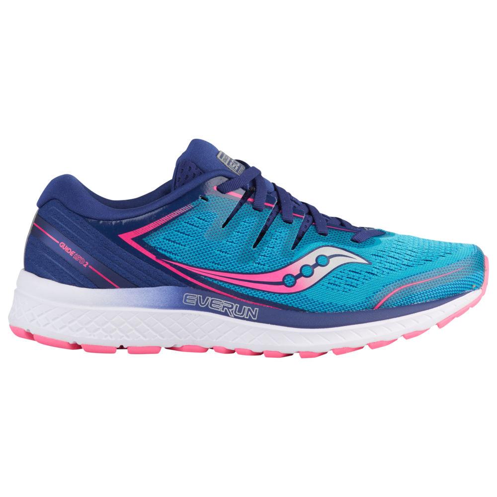 サッカニー Saucony レディース ランニング・ウォーキング シューズ・靴【Guide ISO 2】Teal/Pink