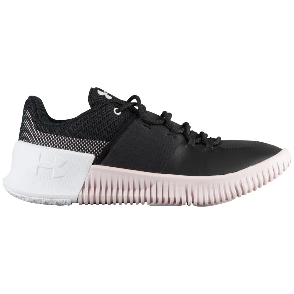 アンダーアーマー Under Armour レディース フィットネス・トレーニング シューズ・靴【Ultimate Speed】Black/French Gray/White