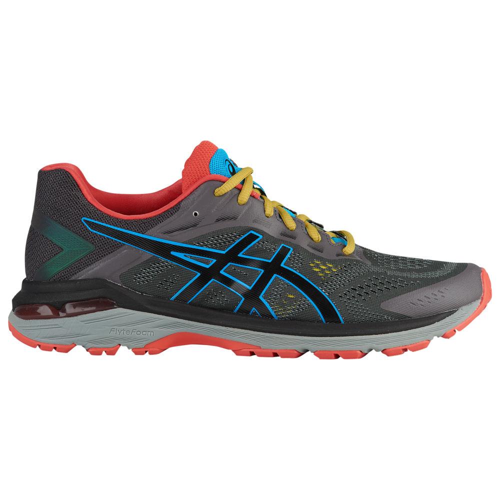 アシックス ASICS(r) メンズ ランニング・ウォーキング シューズ・靴【GT-2000 7 Trail】Dark Grey/Black