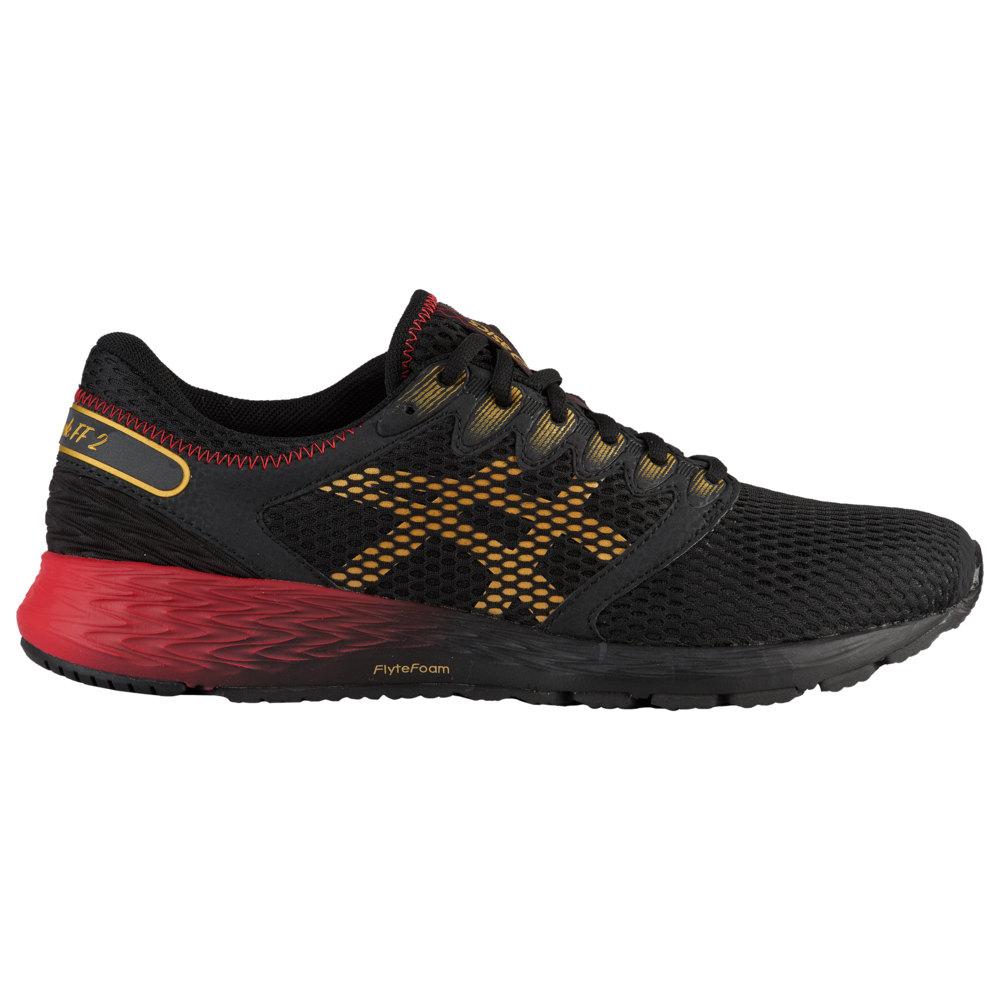 アシックス ASICS(r) メンズ ランニング・ウォーキング シューズ・靴【Roadhawk FF 2】Black/Rich Gold Mugen Pack