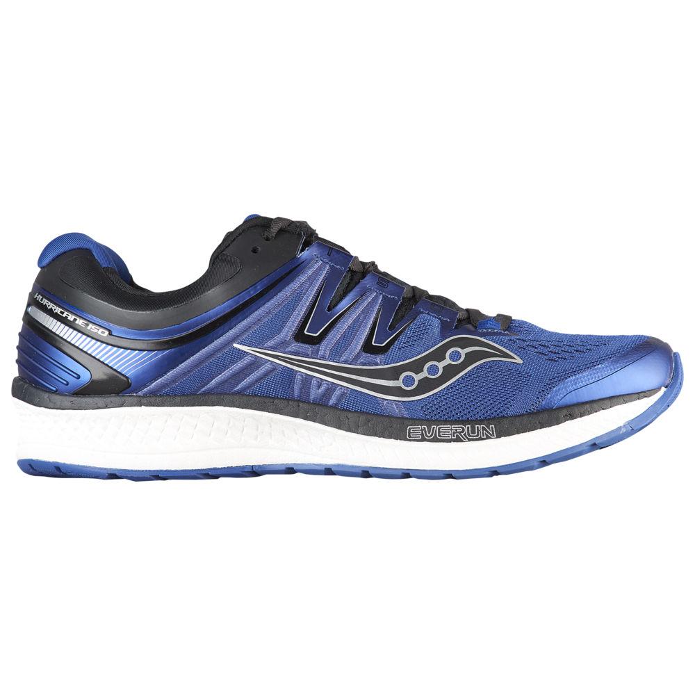 サッカニー Saucony メンズ ランニング・ウォーキング シューズ・靴【Hurricane ISO 4】Blue/Black