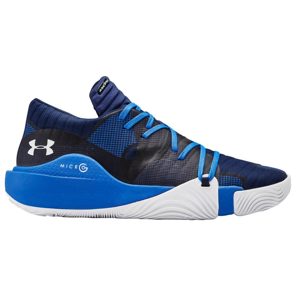 アンダーアーマー Under Armour メンズ バスケットボール シューズ・靴【Spawn Low】Academy/Blue Strike/White