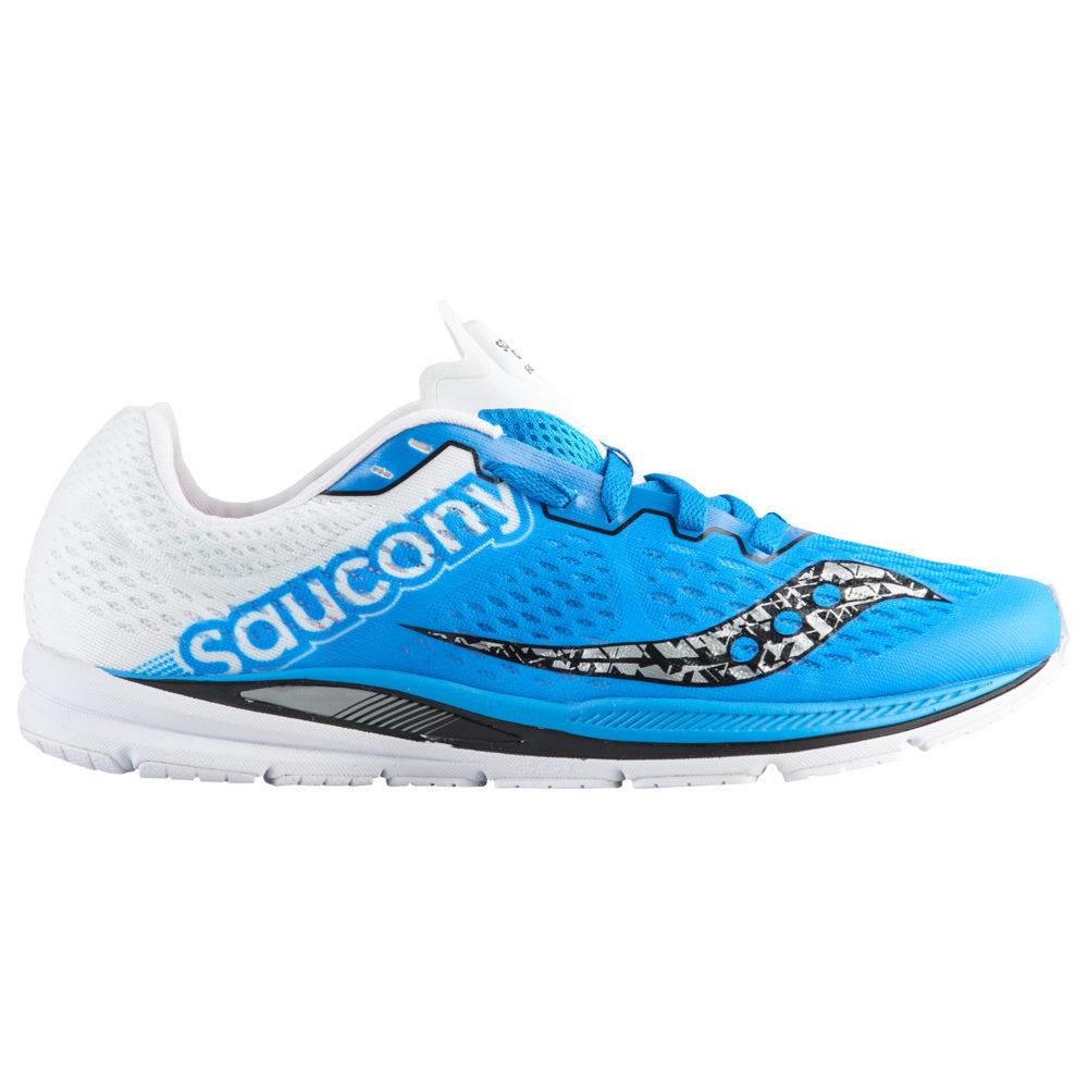 サッカニー Saucony メンズ 陸上 シューズ・靴【Fastwitch 8】Blue/White