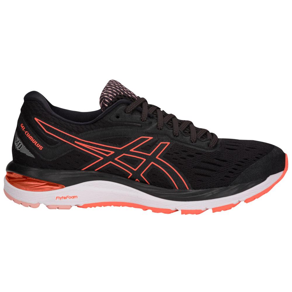 アシックス ASICS(r) レディース ランニング・ウォーキング シューズ・靴【GEL-Cumulus 20】Black/Flash Coral
