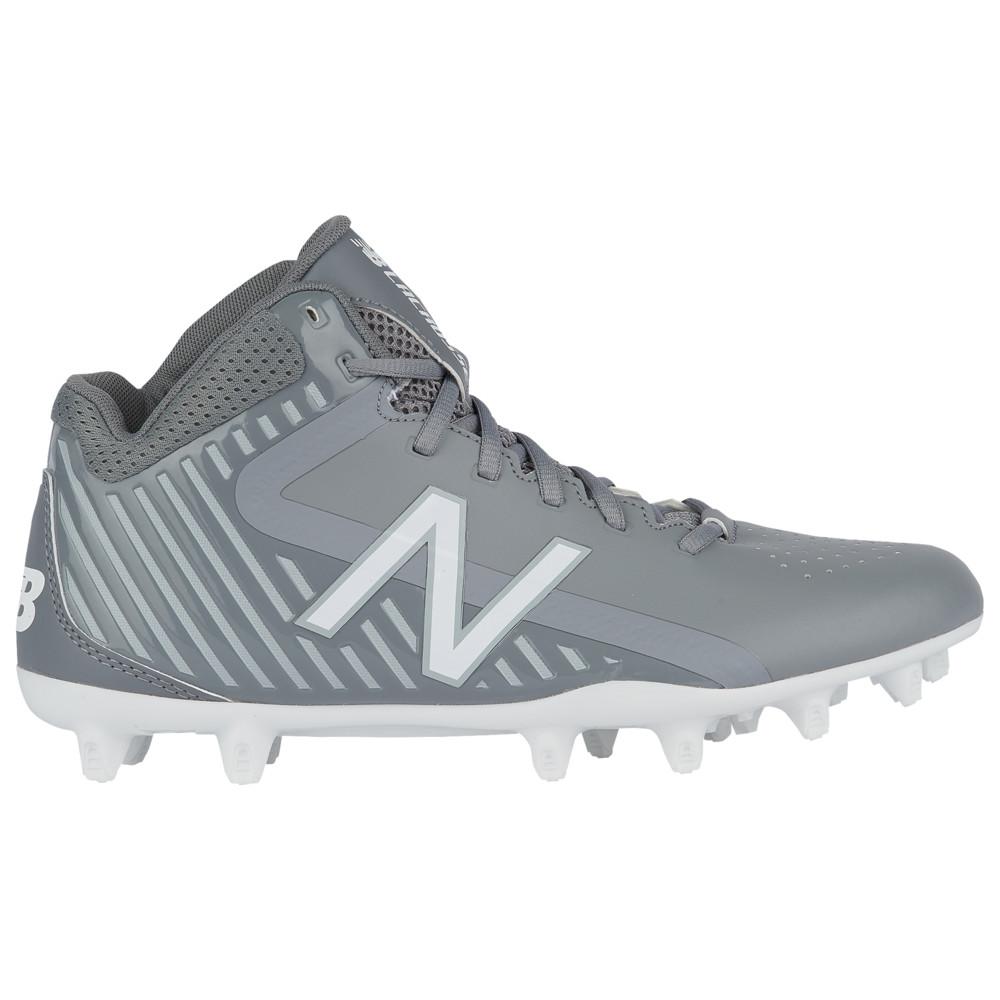 ニューバランス New Balance メンズ ラクロス シューズ・靴【Rush MID】Grey/Grey