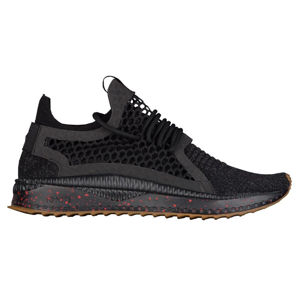 プーマ PUMA メンズ ランニング・ウォーキング シューズ・靴【Tsugi Netfit V2 EvoKNIT】Black/Asphalt/High Risk Red