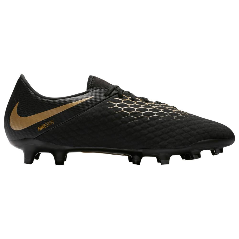ナイキ Nike メンズ サッカー シューズ・靴【Hypervenom Phantom 3 Academy FG】Black/Metallic Gold
