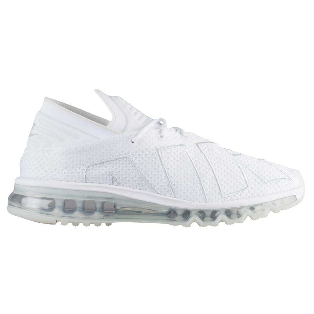 ナイキ Nike メンズ ランニング・ウォーキング シューズ・靴【Air Max Flair】White/Pure Platinum
