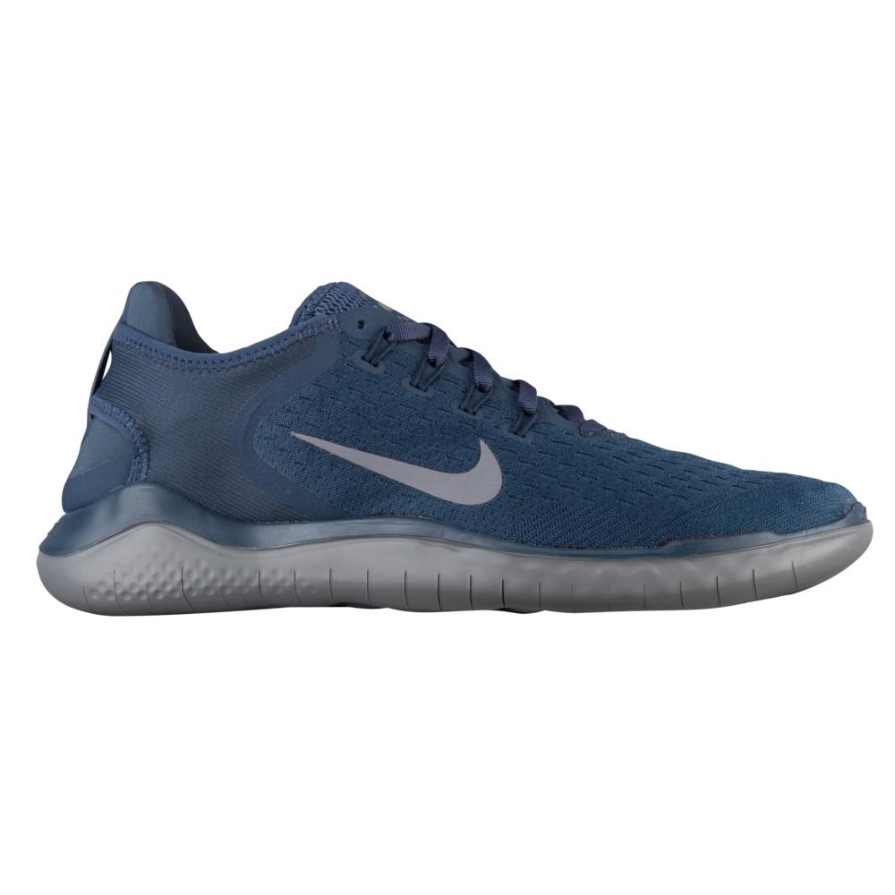 ナイキ Nike メンズ ランニング・ウォーキング シューズ・靴【Free RN 2018】Thunder Blue/Gunsmoke/Obsidian
