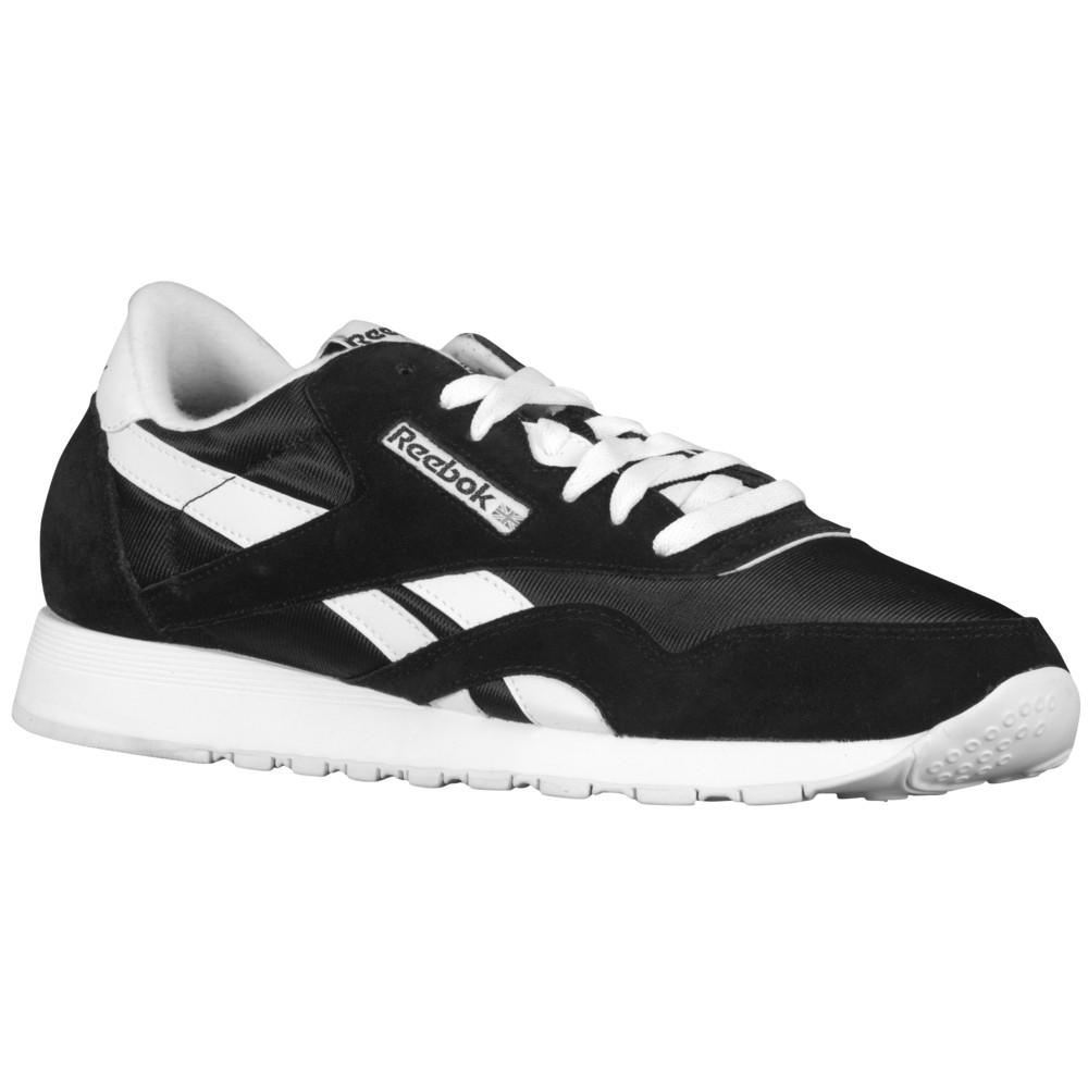 リーボック Reebok メンズ ランニング・ウォーキング シューズ・靴【Classic Nylon】Black/White