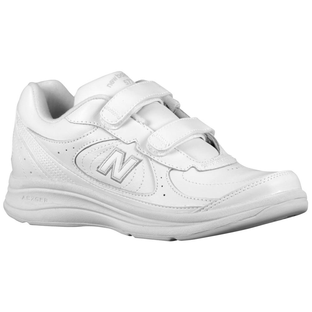 ニューバランス New Balance レディース ランニング・ウォーキング シューズ・靴【577 Hook & Loop】White