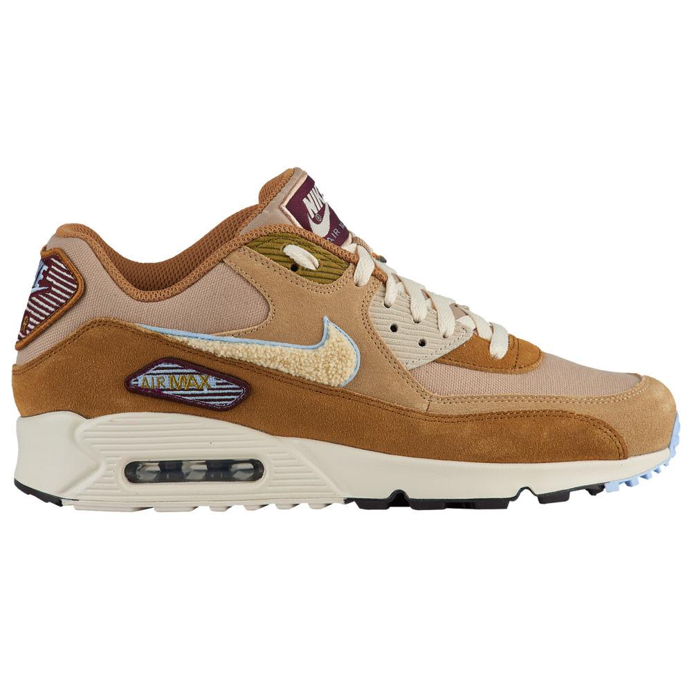ナイキ Nike メンズ ランニング・ウォーキング シューズ・靴【Air Max 90】Muted Bronze/Light Cream/Royal Tint Premium SE / Varsity Pack