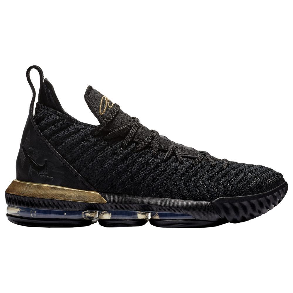 ナイキ Nike メンズ バスケットボール シューズ・靴【LeBron 16】Lebron James Black/Metallic Gold