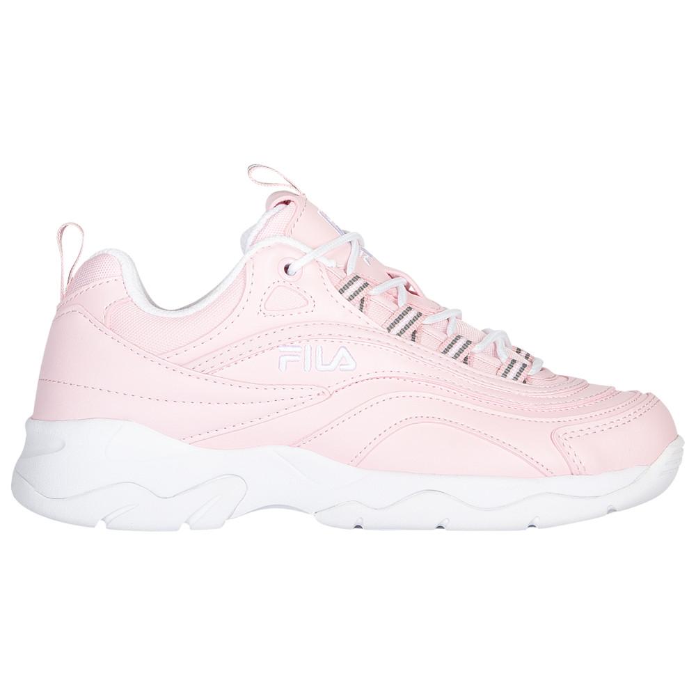 フィラ Fila レディース ランニング・ウォーキング シューズ・靴【Ray】Chalk Pink/White