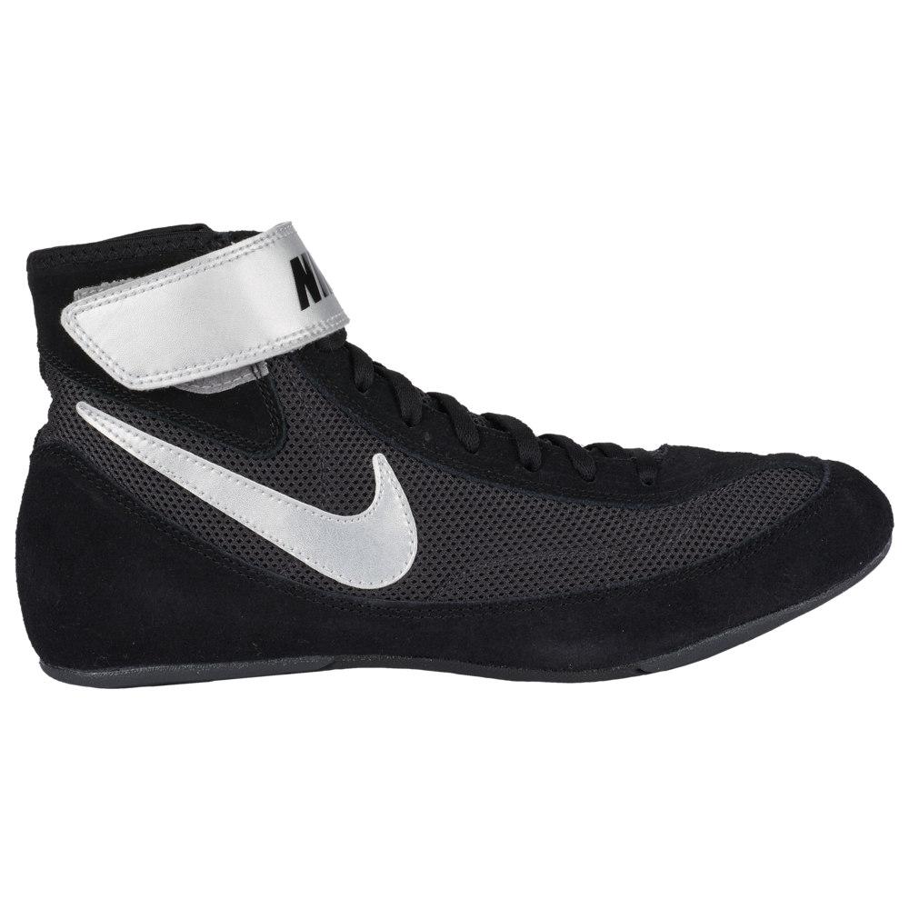 ナイキ Nike メンズ レスリング シューズ・靴【Speedsweep VII】Black/Metallic Silver/Anthracite