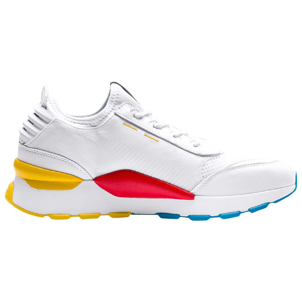 プーマ PUMA メンズ ランニング・ウォーキング シューズ・靴【RS-0】White/Hawaiian Ocean/Dandelion Play