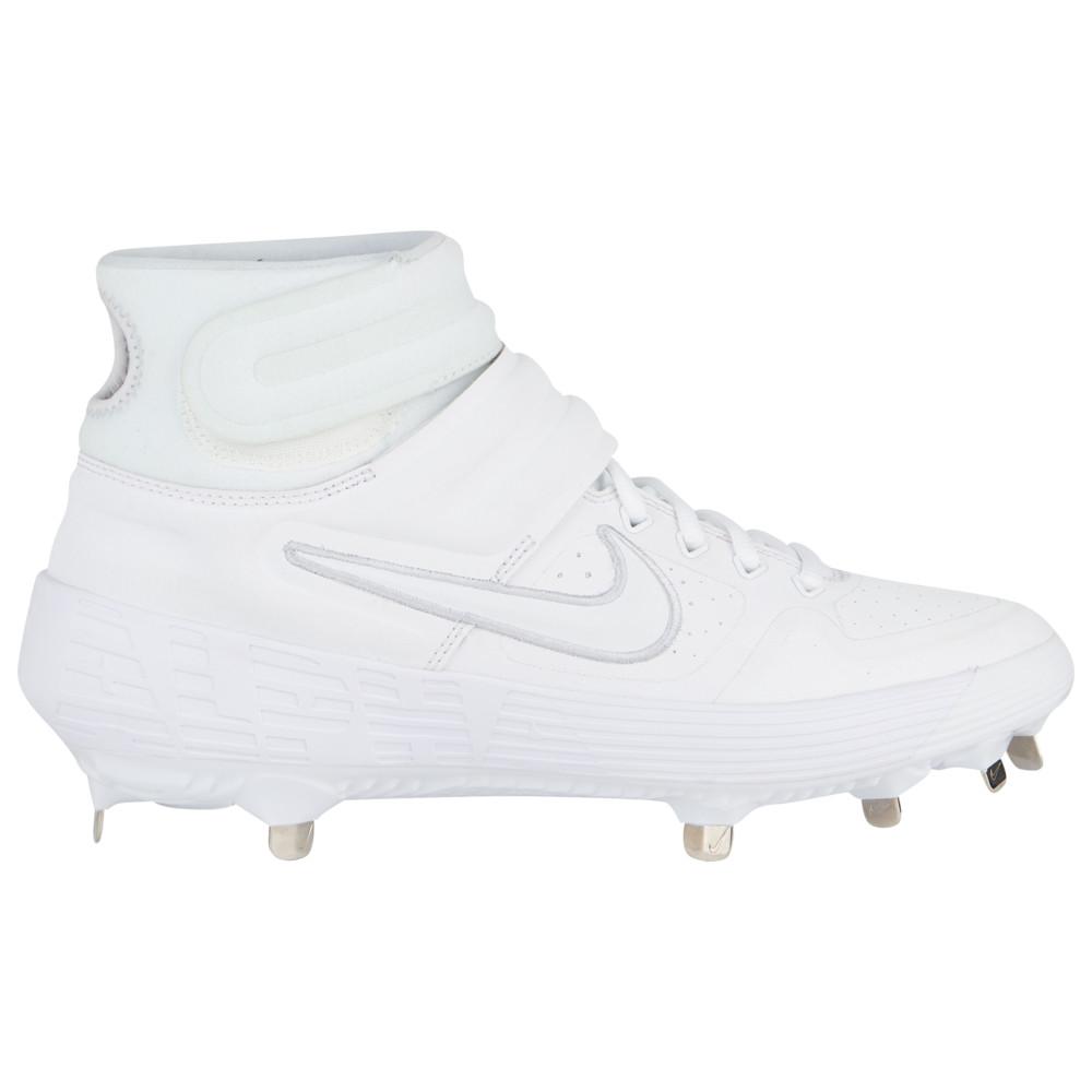 ナイキ Nike メンズ 野球 シューズ・靴【Alpha Huarache Elite 2 Mid】White/White/Black