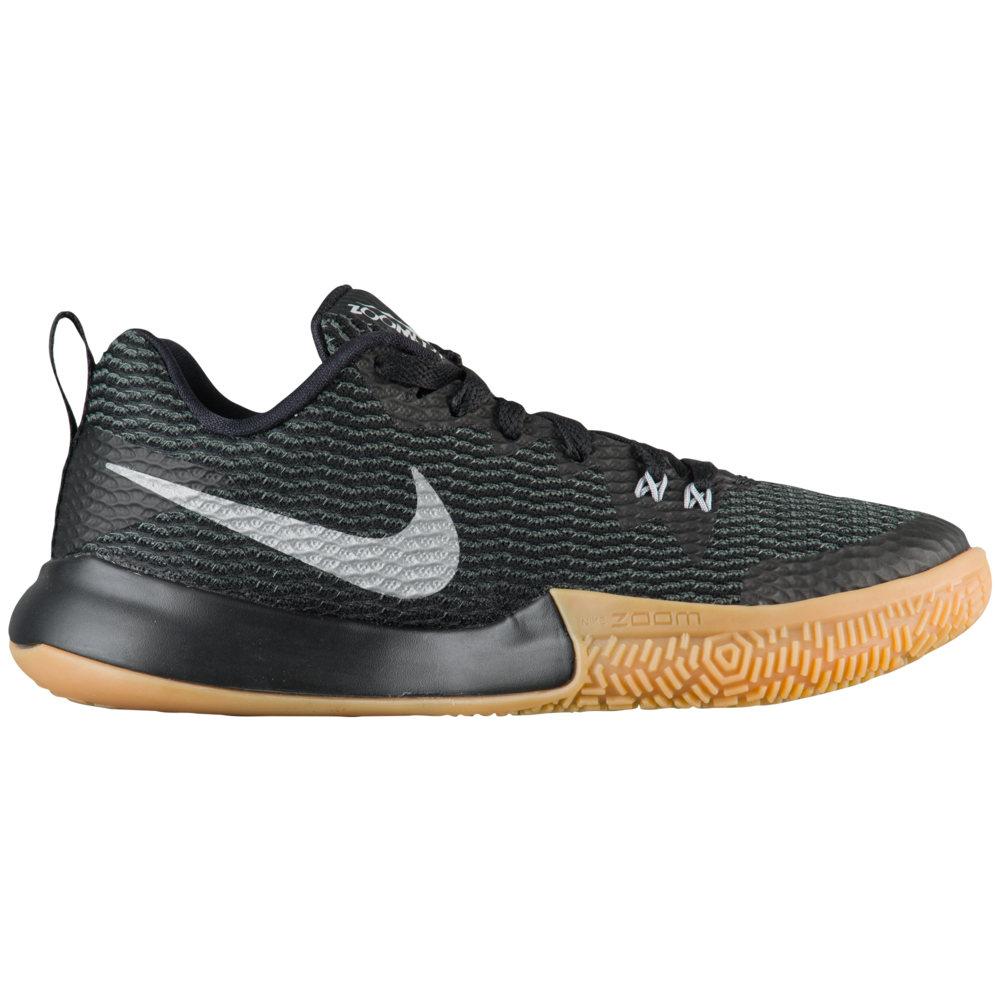 ナイキ Nike レディース バスケットボール シューズ・靴【Zoom Shift II】Black/Reflective Silver/Anthracite/Gum