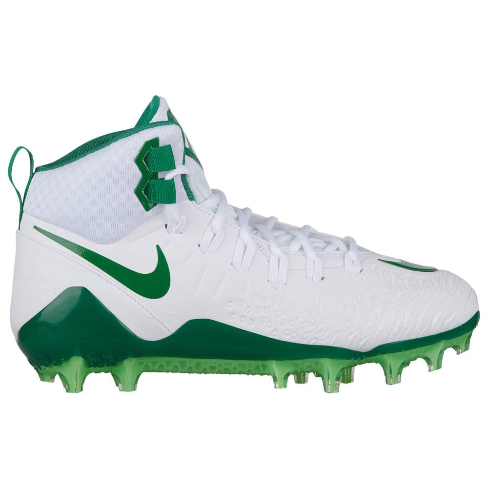 ナイキ Nike メンズ アメリカンフットボール シューズ・靴【Force Savage Pro】White/Pine Green/Pine Green/Rage Green