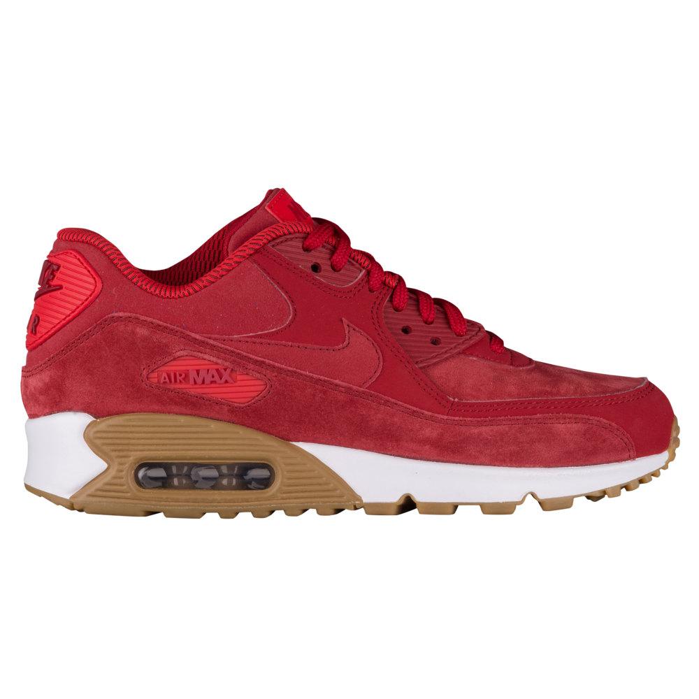 ナイキ Nike レディース ランニング・ウォーキング シューズ・靴【Air Max 90】Gym Red/White/Gum Light Brown SE / Suede to Gum