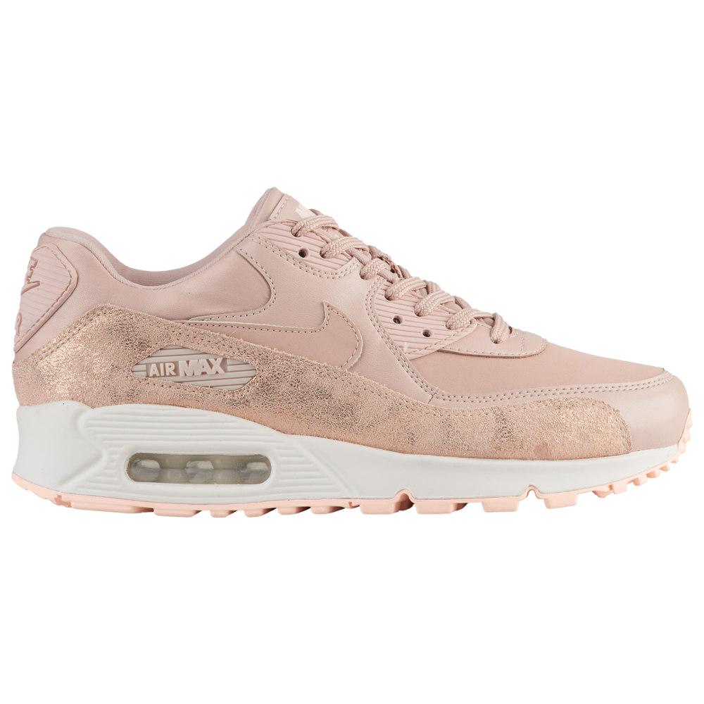 ナイキ Nike レディース ランニング・ウォーキング シューズ・靴【Air Max 90】Particle Beige/Particle Beige/White/Crimson Premium / Burnished Leather Pack