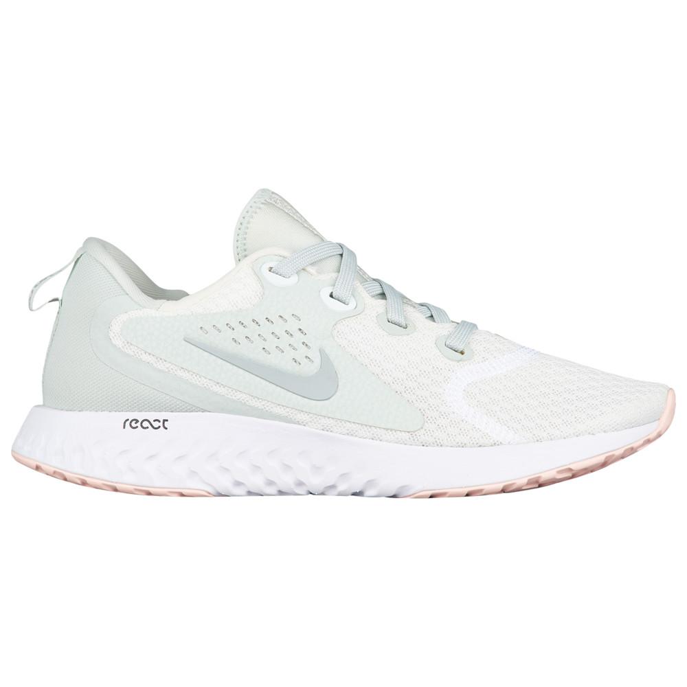 ナイキ Nike レディース ランニング・ウォーキング シューズ・靴【Legend React】Summit White/Wolf Grey/Light Silver/Crimson