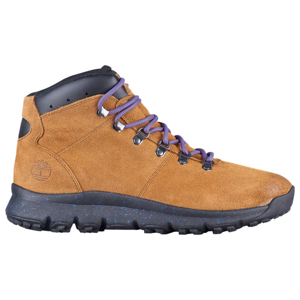 ティンバーランド Timberland メンズ ハイキング・登山 シューズ・靴【World Hiker Mid】Medium Brown Suede