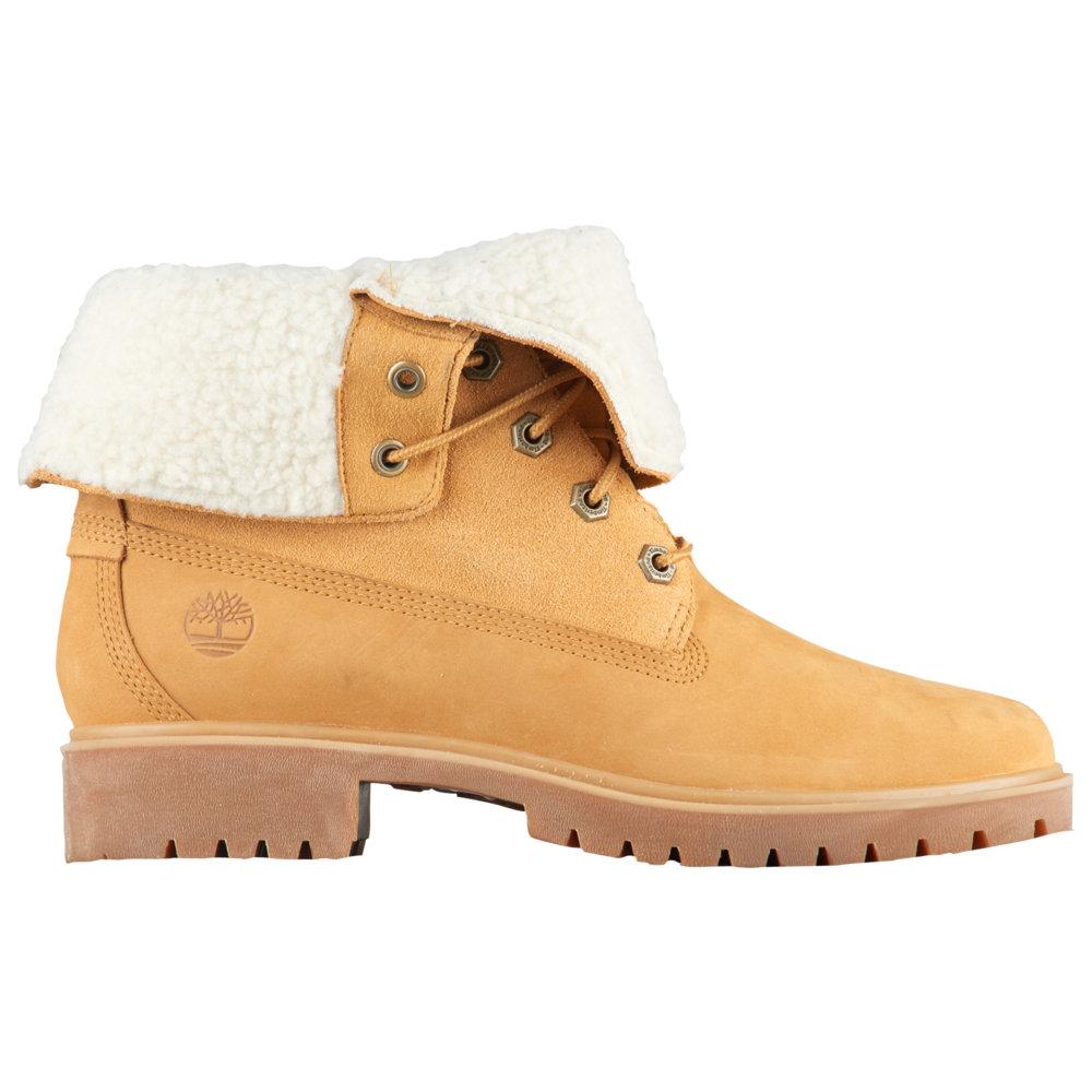 ティンバーランド Timberland レディース シューズ・靴 ブーツ【Jayne WP Teddy Fleece Fold-Down】Wheat Nubuck