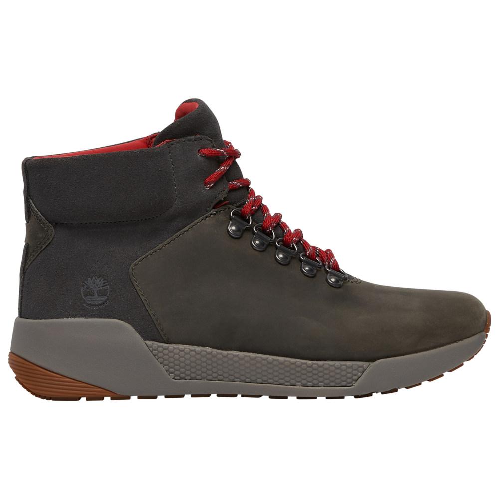 ティンバーランド Timberland レディース ハイキング・登山 シューズ・靴【Kiri Up Waterproof Mid Hiker】Dark Grey Full-Grain