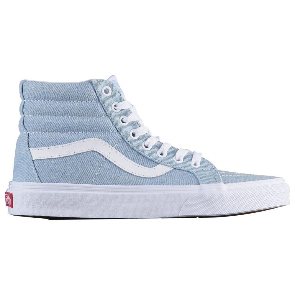 ヴァンズ Vans レディース スケートボード シューズ・靴【SK8-Hi Reissue】Baby Blue Denim