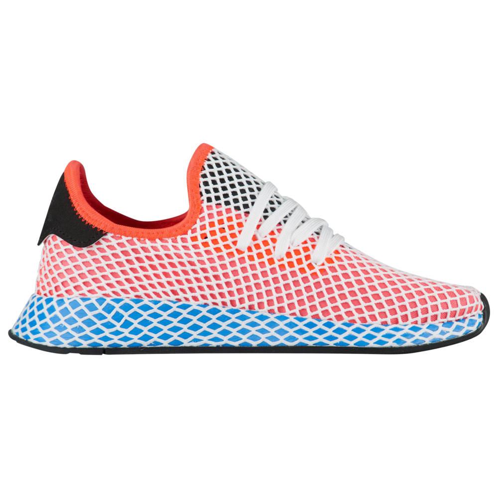 アディダス adidas Originals レディース ランニング・ウォーキング シューズ・靴【Deerupt Runner】Soar Red/Bluebird