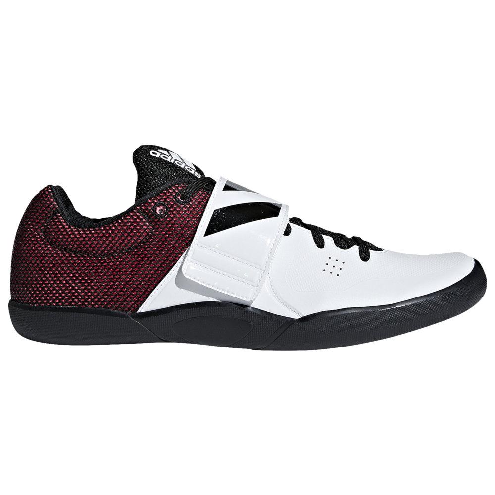 アディダス adidas メンズ 陸上 シューズ・靴【adiZero Discus/Hammer】White/Core Black/Shock Red