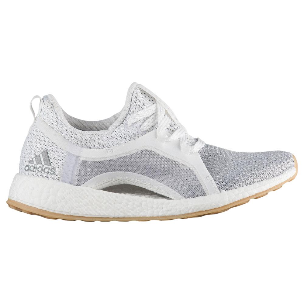 アディダス adidas レディース ランニング・ウォーキング シューズ・靴【Pure Boost X 2.0 Clima】White/Silver Met/Grey Two