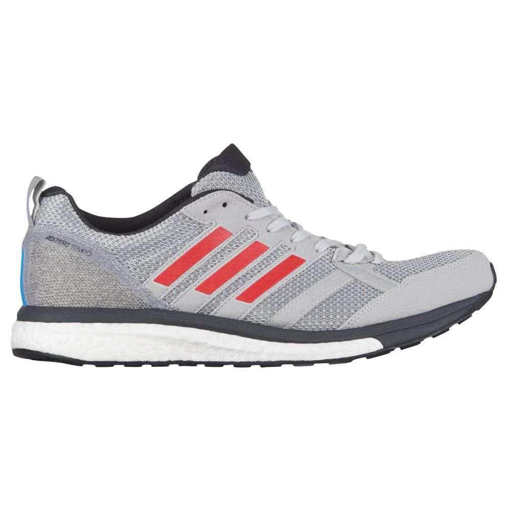 アディダス adidas メンズ ランニング・ウォーキング シューズ・靴【adiZero Tempo 9】Grey Two/Hi-Res Red/Carbon