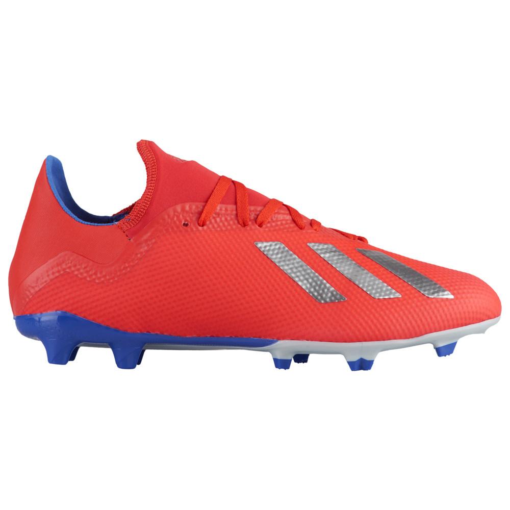 アディダス adidas メンズ サッカー シューズ・靴【X 18.3 FG】Active Red/Silver Metallic/Bold Blue