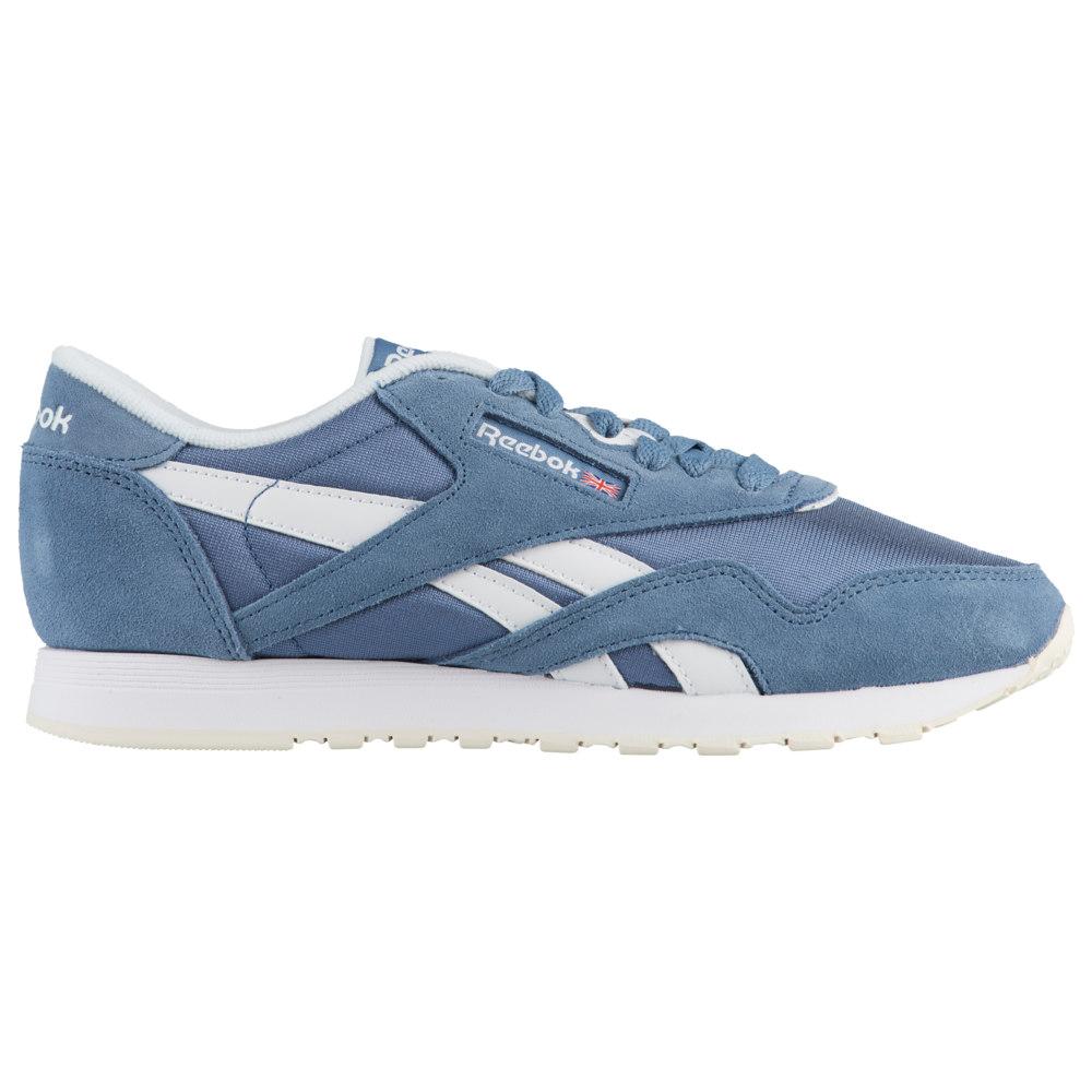 リーボック Reebok レディース ランニング・ウォーキング シューズ・靴【Classic Nylon】Blue Slate/White/Chalk Muted Berries Pack