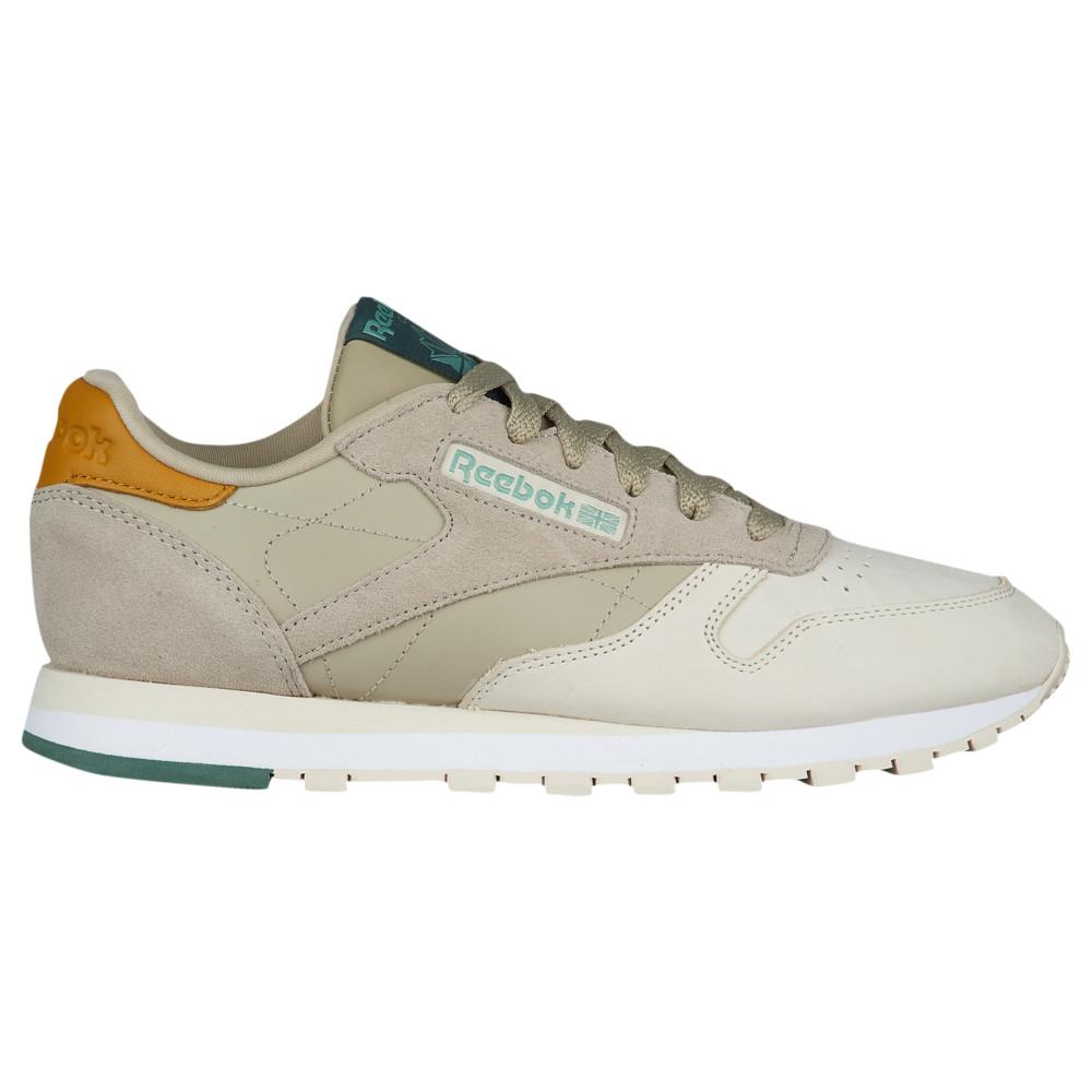 リーボック Reebok レディース ランニング・ウォーキング シューズ・靴【Classic Leather】Neutral/Sandtrap/Khaki/White