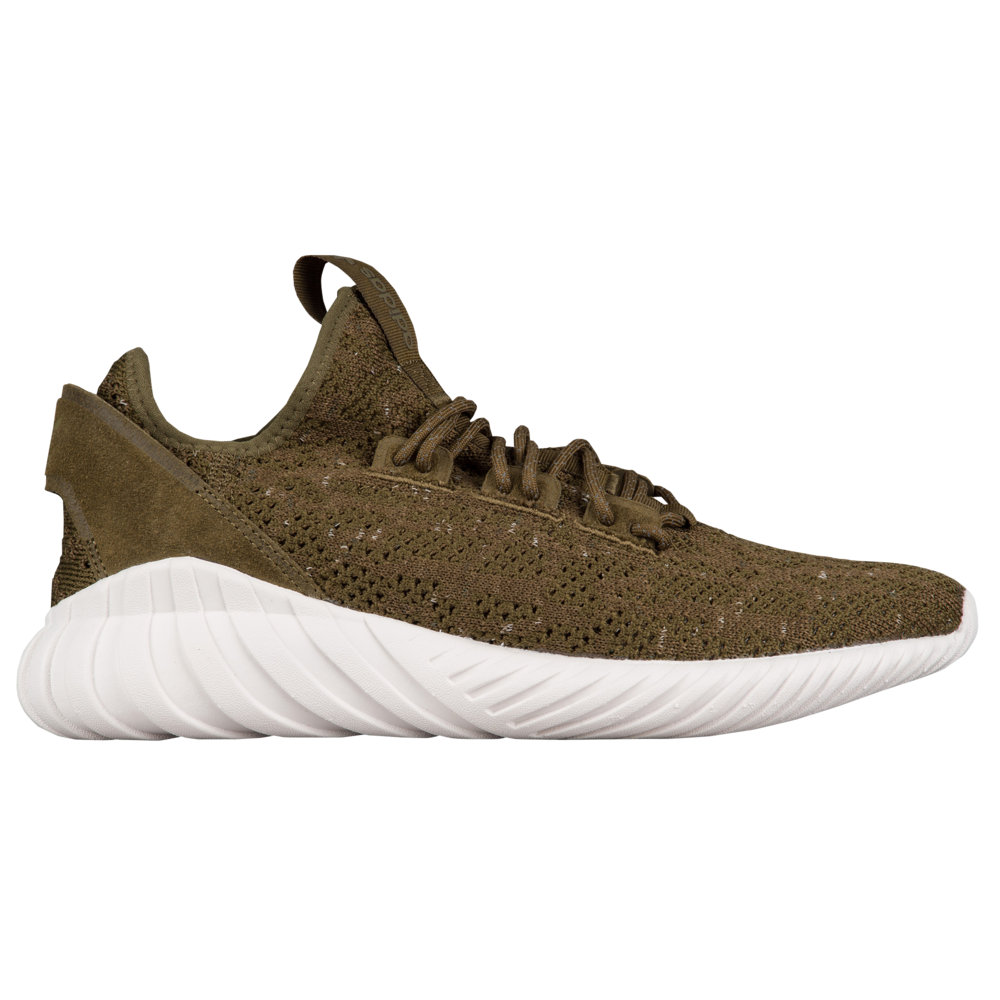アディダス adidas Originals メンズ ランニング・ウォーキング シューズ・靴【Tubular Doom Sock Primeknit】Trace Olive/White/Night Cargo