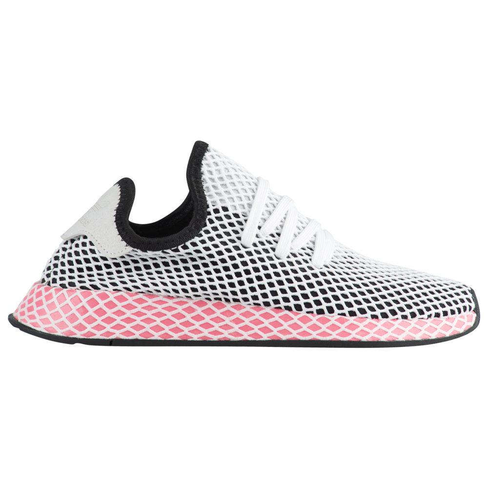アディダス adidas Originals レディース ランニング・ウォーキング シューズ・靴【Deerupt Runner】Black/Black/Chalk Pink