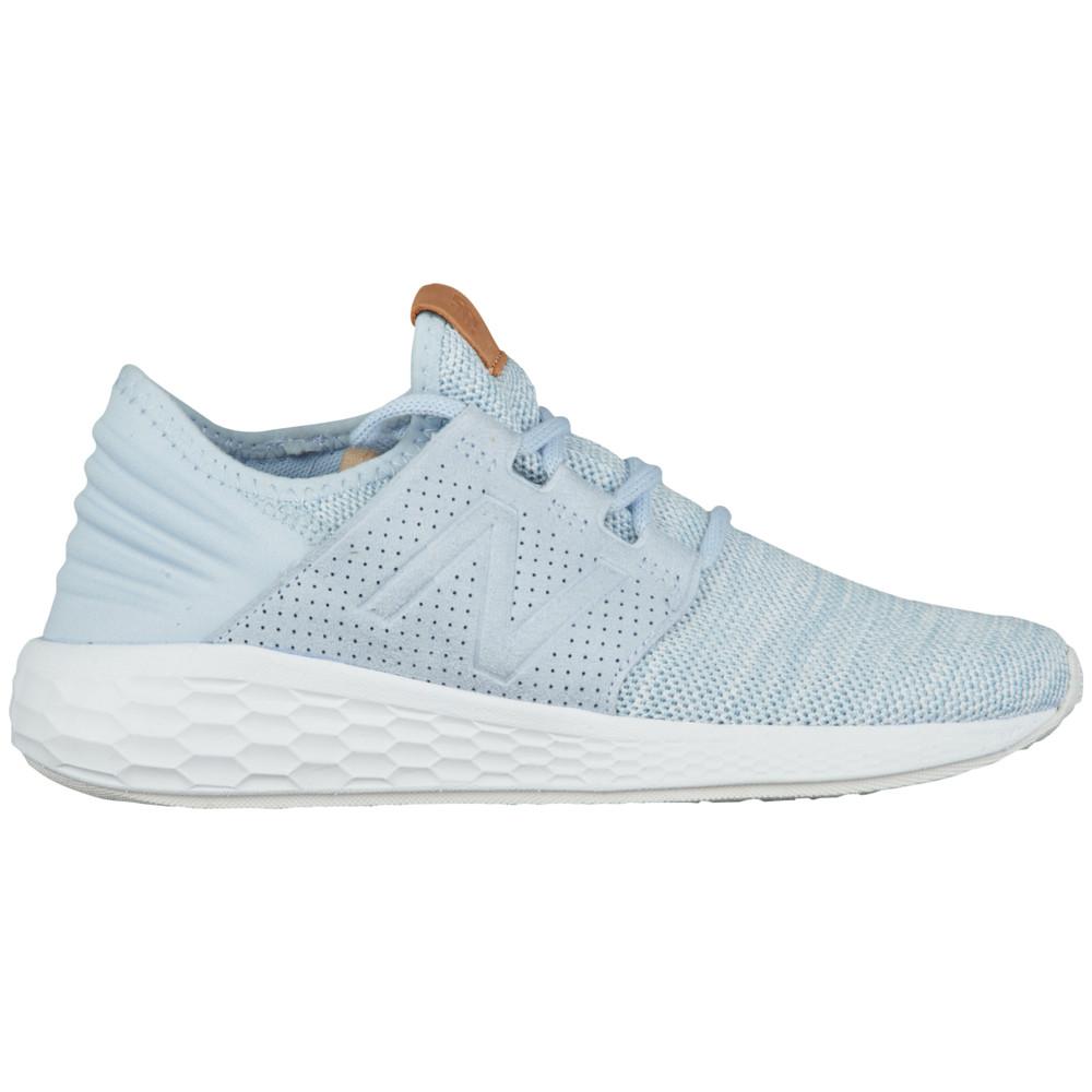 ニューバランス New Balance レディース ランニング・ウォーキング シューズ・靴【Fresh Foam Cruz V2】Ice Blue/White Knit