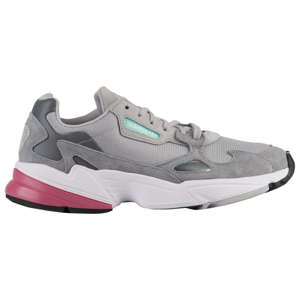 アディダス adidas Originals レディース ランニング・ウォーキング シューズ・靴【Falcon】Grey/Grey/Trace Maroon