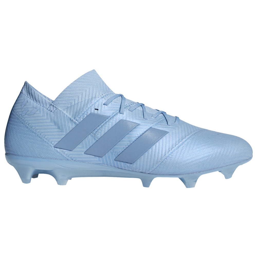 アディダス adidas メンズ サッカー シューズ・靴【Nemeziz 18.1 FG】Ash Blue/Raw Grey Spectral Mode / Messi