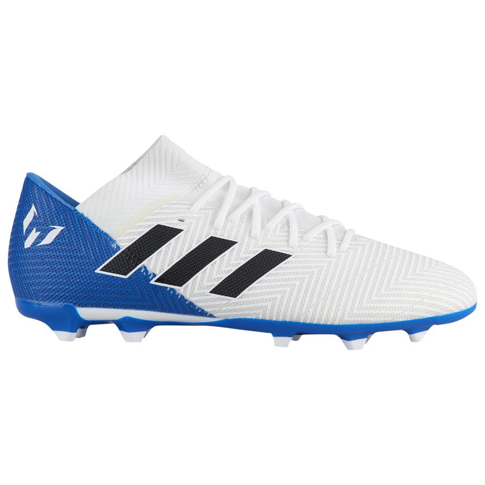 アディダス adidas メンズ サッカー シューズ・靴【Nemeziz 18.3 FG】Footwear White/Core Black/Blue Team Mode / Messi