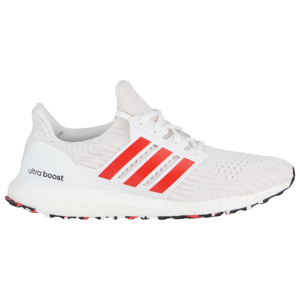アディダス adidas メンズ ランニング・ウォーキング シューズ・靴【Ultraboost】Chalk White/Active Red/White