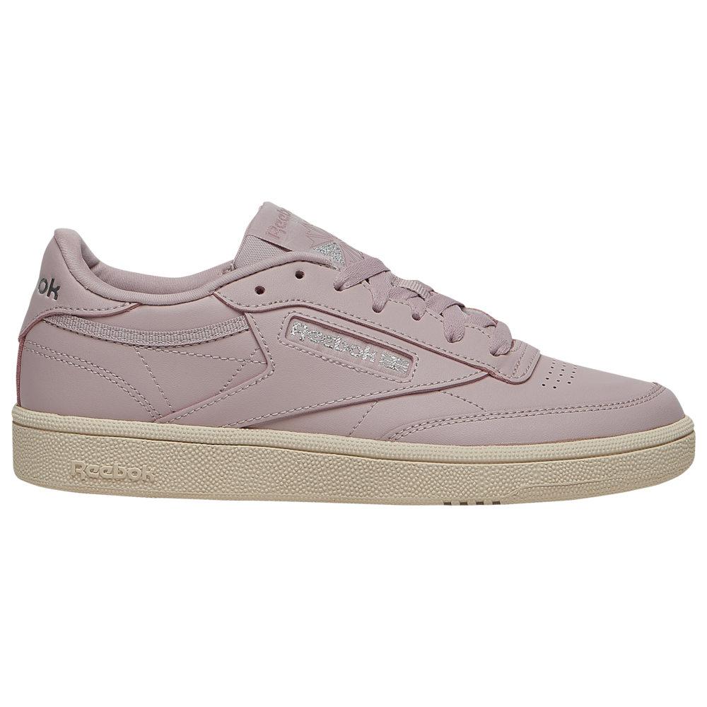 リーボック Reebok レディース ランニング・ウォーキング シューズ・靴【Club C 85】Ashen Lilac/Pure Silver/Paper White
