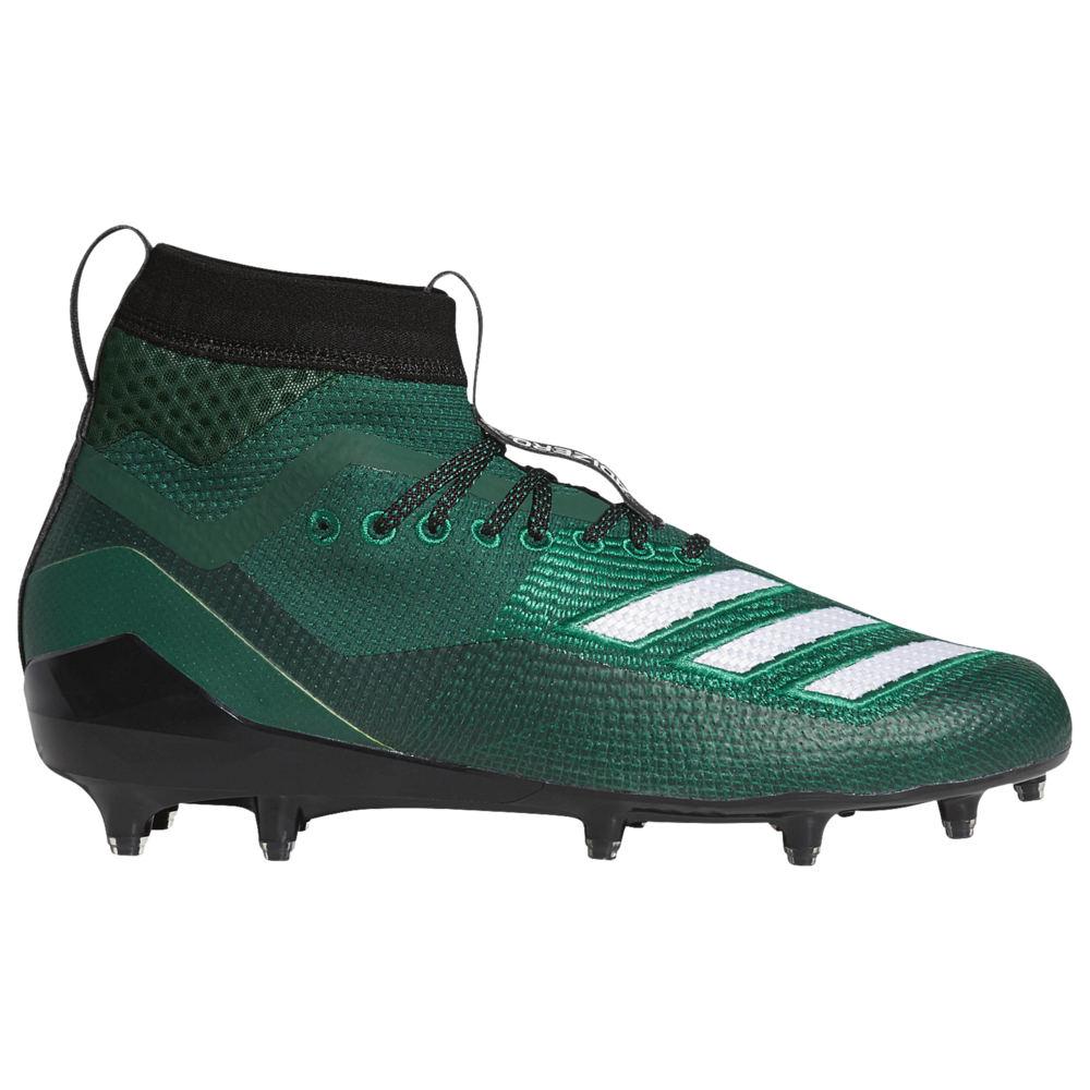 アディダス adidas メンズ アメリカンフットボール シューズ・靴【adiZero 8.0 SK】Dark Green/White available to ship early March