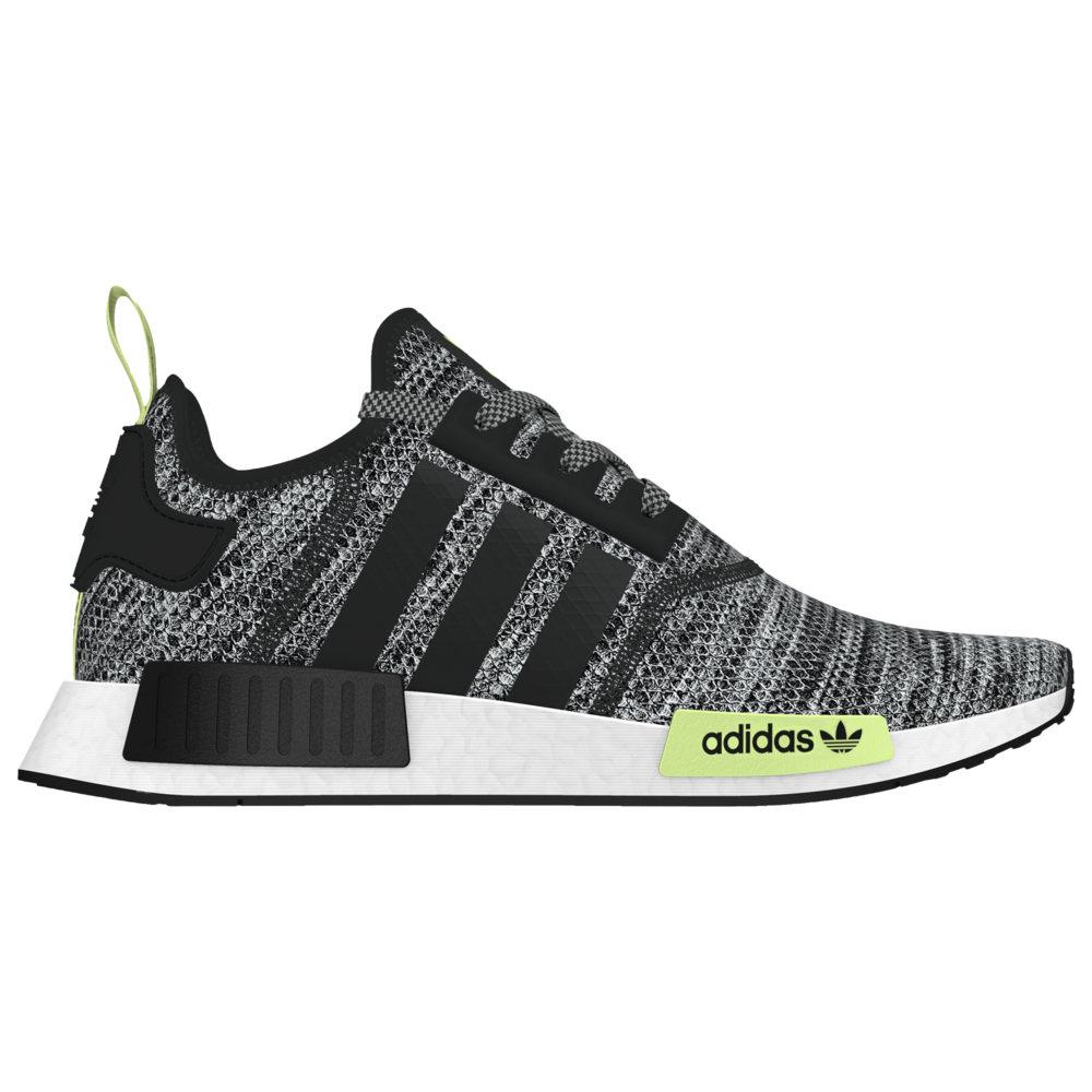 アディダス adidas Originals メンズ ランニング・ウォーキング シューズ・靴【NMD R1】Black/Grey/Solar Yellow