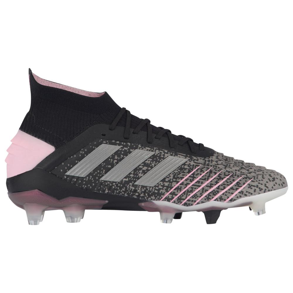 アディダス adidas レディース サッカー シューズ・靴【Predator 19.1 FG】Core Black/Silver Metallic