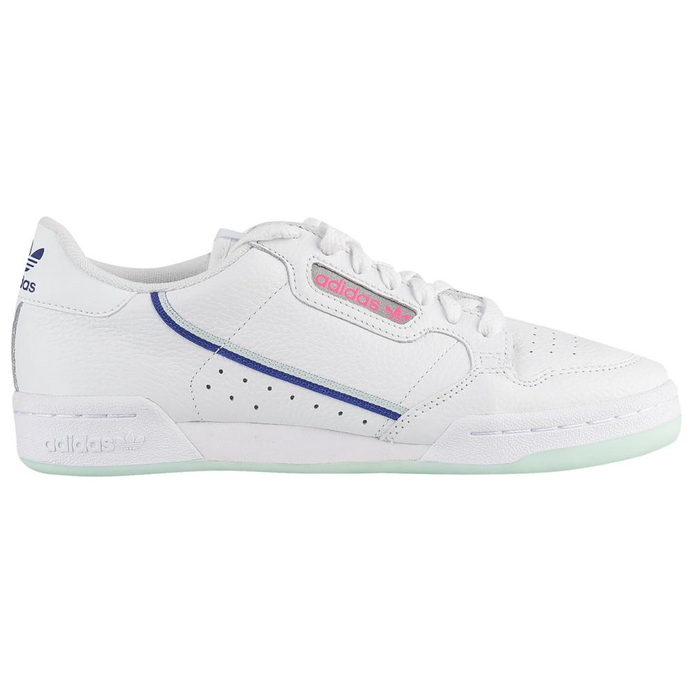 アディダス adidas Originals レディース ランニング・ウォーキング シューズ・靴【Continental 80】White/Ice Mint/Active Blue